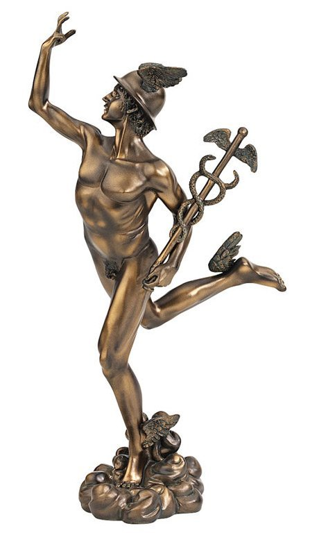 Hermes Greek God of Trade, Eloquence and Messenger of the Gods